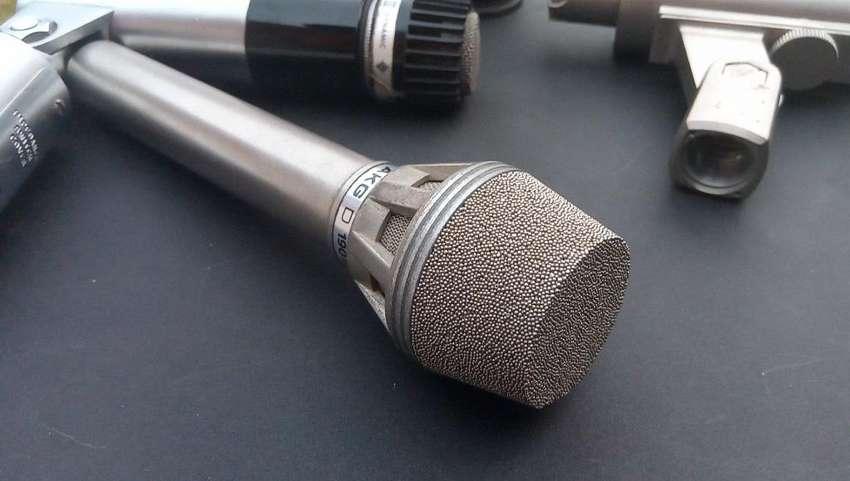 Micrófono Vintage Akg D 190 0
