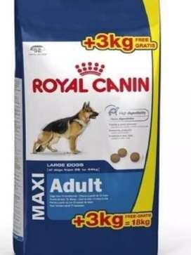 Royal Canin Maxi adulto x 18 kgrs