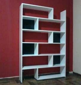 Biblioteca Minimalista de Diseño - OFERTA