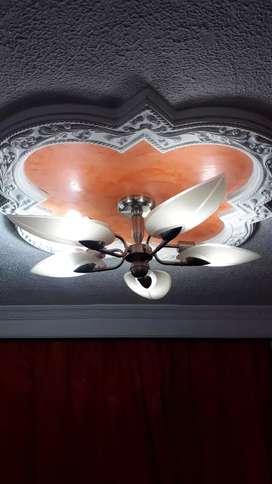 2 Hermosas lamparas finas en acero Negociables
