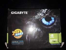 Placa de video Nvidia Geforce GT 730 GT 2 GB DDR2