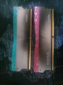 Memoria RAM RGB DDR4 3200 8 Gb