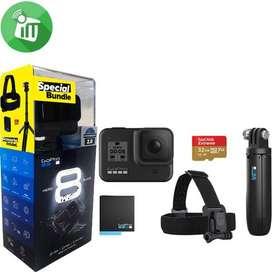GoPro Hero 8 Black Bundle Nuevo Sellada Micro Sd 32gb