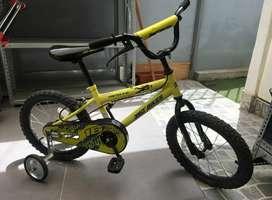 Bicicleta, aro 16