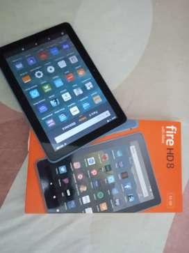 Tablet Amazon Fire HD 8 Alexa Nueva 32 GB 8 pulgadas. Vean lo que incluye
