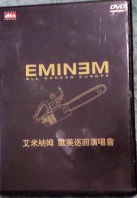 Eminem. All Access Europe. Dvd original. Impecable