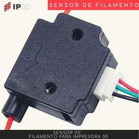 Sensor de filamento para impresora 3D