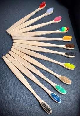 Cepillo de dientes en Bambu