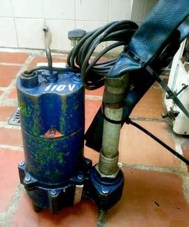 Vendo Bomba Sumergible 110v - Usada