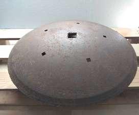 Disco de Arado 56cm. Cóncavo. Excelente calidad. El más buscado.