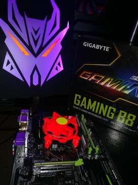 Board Gamer Procesador Ram Ddr4 Intel