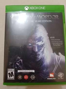 VENTA de vídeo juegos XBOX ONE