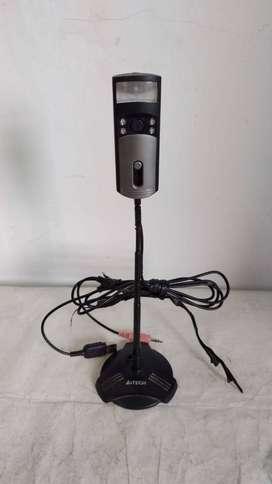 Camara Web con audio Marca A4Tech