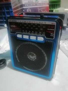 Radio parlante am FM multibanda linterna USB SD entrada auxiliar