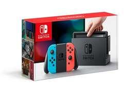 Nintendo Switch Neón / 2 juegos incluye
