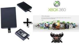 Disco Duro de 500 gigas para Xbox 360 Slim, Slim E, Arcade, Fat, Jasper, Elite