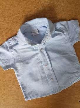 Camisa de bebé Magdalena Espósito. 3 meses
