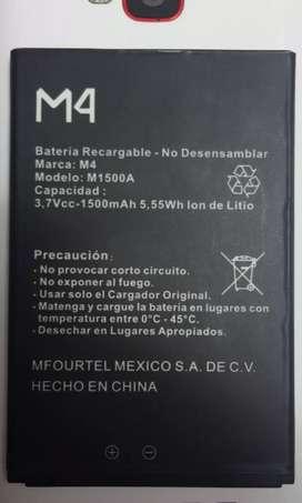 Compr^o Batería Celular M4