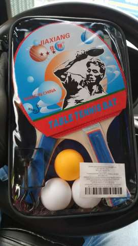 Kit ping pong raquetas con malla
