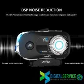 Camara Full HD 1080p Bluetooth 5.0 Inalámbricos para Moto envio gratis