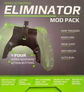 Eliminator Xbox +mods. Nuevo strikepack original. Disponible ya