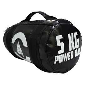 Mancuerna INDUSTRY BAG Pesa Gimnasio de 5 KG Power Bag para Barras