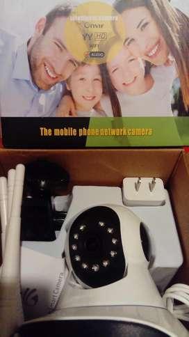 Camara de vigilancia wifi para interior o exterior