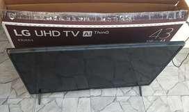 Televisor smart LG UHD 4K 43 pulgadas