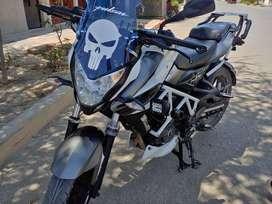 Moto pulsar ns 200 unico dueño