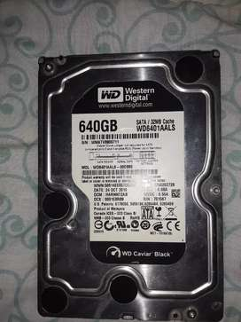 Disco duro 640gb