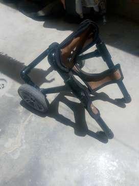 Remato silla con ruedas