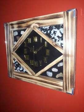 Relojes artesanales de pared