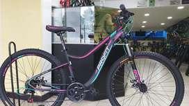 Bicicleta profit Dallas 27.5 7Vel Freno Disco