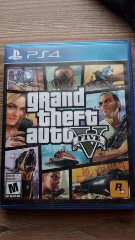 GTA V PS4 con todo