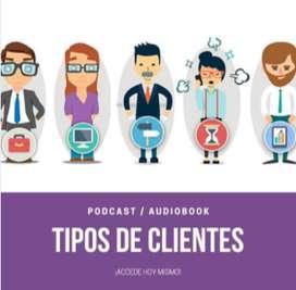 """""""TIPOS DE CLIENTES AUDIO BOOK"""""""