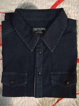 Camisa nueva original chevignon manga larga