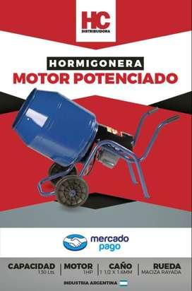 HORMIGONERA MOTOR POTENCIADO