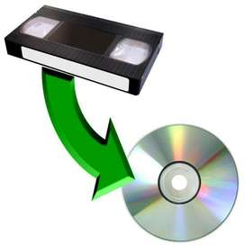 Servicio de Pasar VHS a DVD o USB Bogota Norte, Video 8, Transfer, digitalización