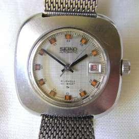 Elegante Reloj Seiko Hi Beat 21j calendario / Maxim Nord