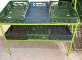 Gondolas refrigeradores y verdureros para negoció