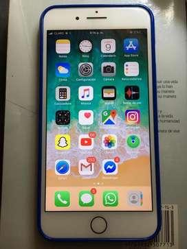 Vendo iphone 7 plus en buenas condiciones le funciona todo libre de icloud de 128 gb.