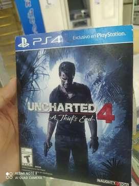 Uncharted 4 play 4 usado