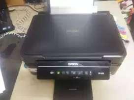 Impresora xp 200 multifuncional con WiFi y sistema continuo