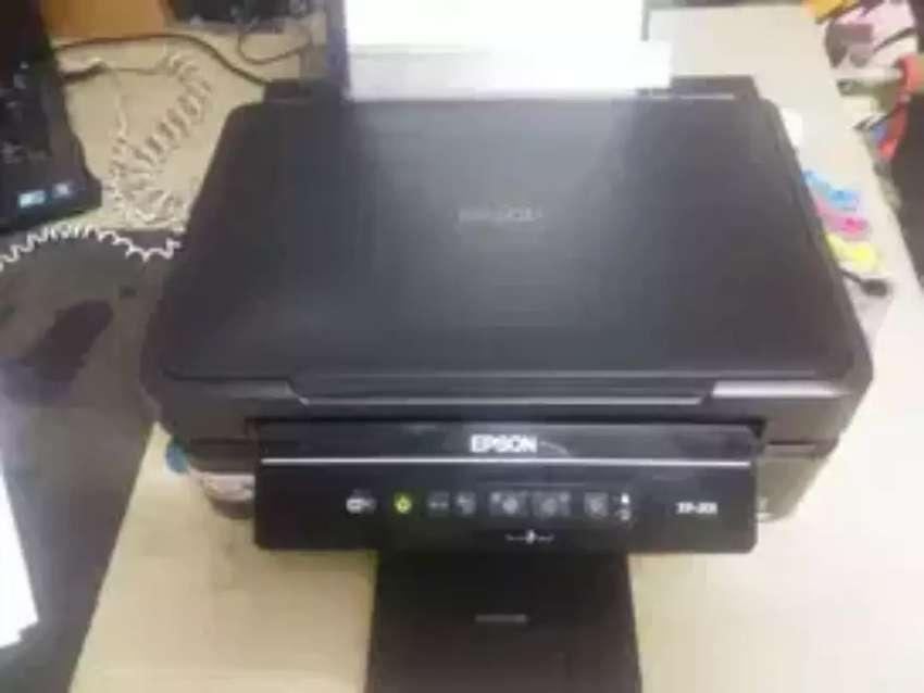 Impresora xp 200 multifuncional con WiFi y sistema continuo 0