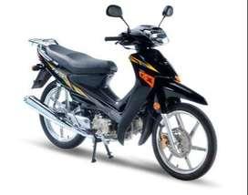 Suzuki FD 110 moto Semi-automática
