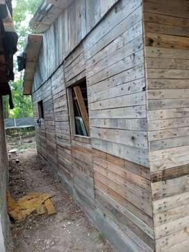 Vendo casilla con techo dos dormitorios comedor y cocina x mudansa