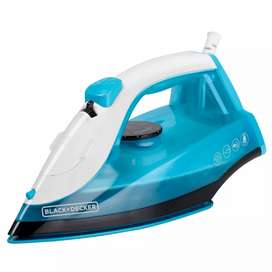 Plancha de ropa vapor black decker Irbd200 azul 1200 watts