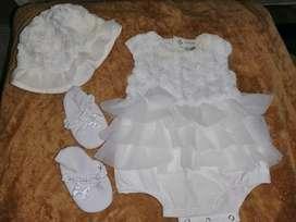 Vestido para Bautizo niña bebé