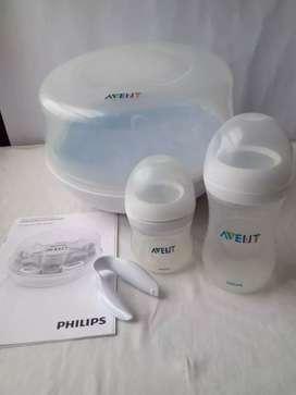 Esterilizador Mamaderas Microondas Avent Philips