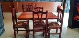 Mesas de madera para comedor (5)